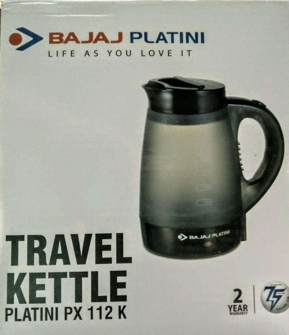 Bajaj Platini PX 112K 0.4L Travel Kettle