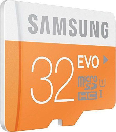 Samsung Evo 32GB MicroSDHC Class 10 (48MB/s) Memory Card