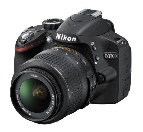 Nikon D3200 (with AF-S 18-55 mm VR Kit + AF-S N...