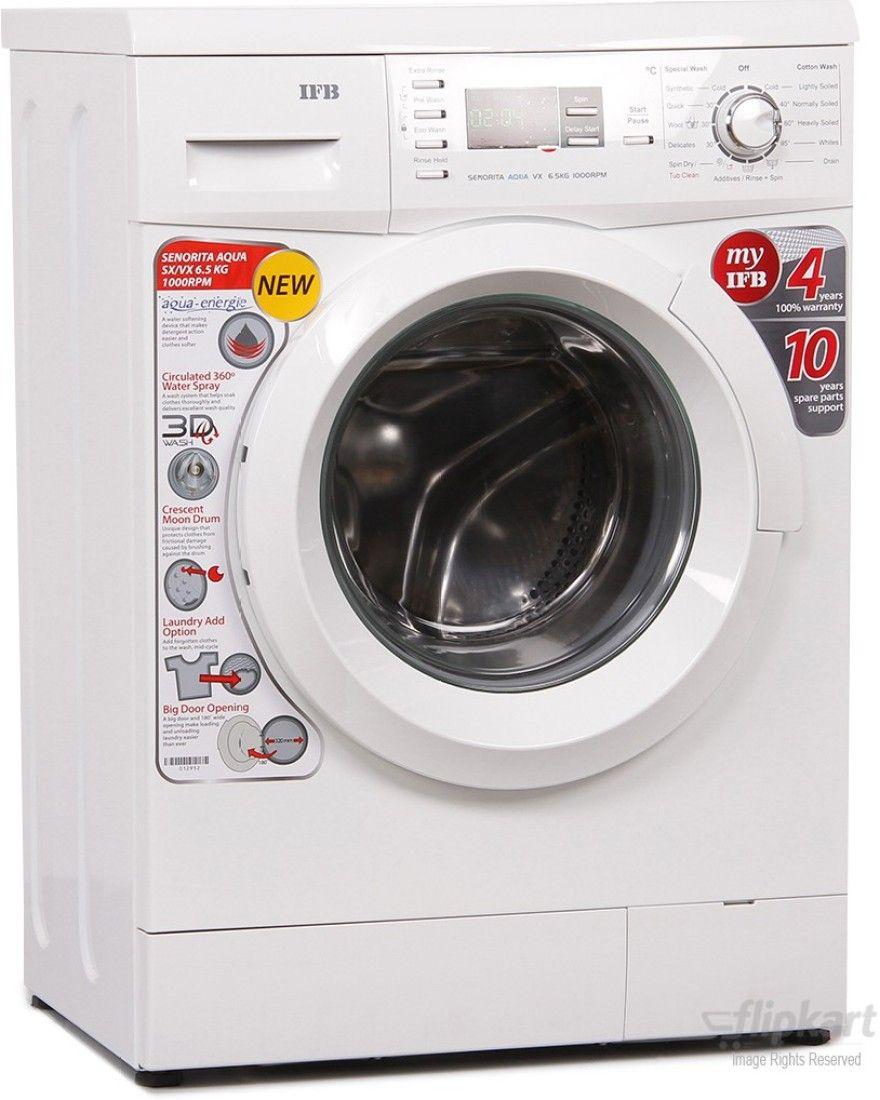 IFB 6.5 Kg Front Load Washing Machine (Senorita Aqua VX)