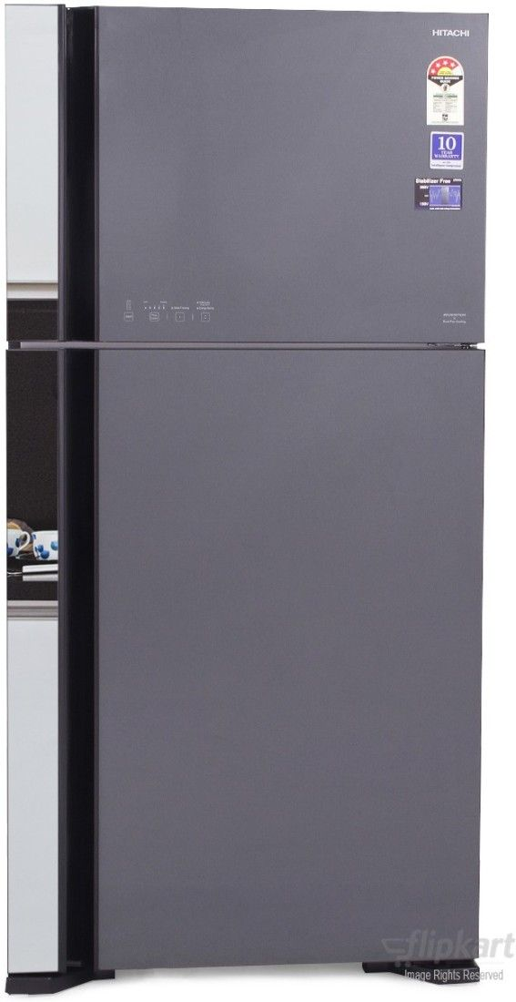 Hitachi BIG2 R-VG610PND3 565 Litres 4S Double Door Refrigerator