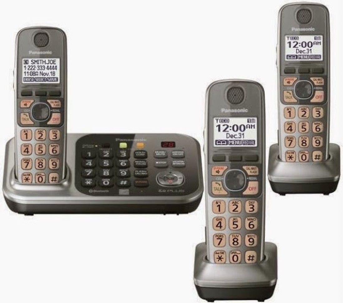 Panasonic KX-TG7743 Cordless Landline Phone