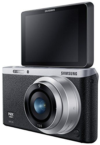 Samsung NX Mini 20.5MP CMOS Smart WiFi and NFC Compact Digital Camera (With 9mm Lens)