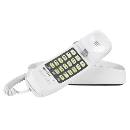AT&T 210 Corded Landline Phone