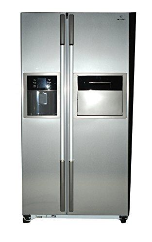 Videocon VPL60ZPS-FSC 604 Litres 5 star inverter Side by Side Door Refrigerator (Platinum Silver)