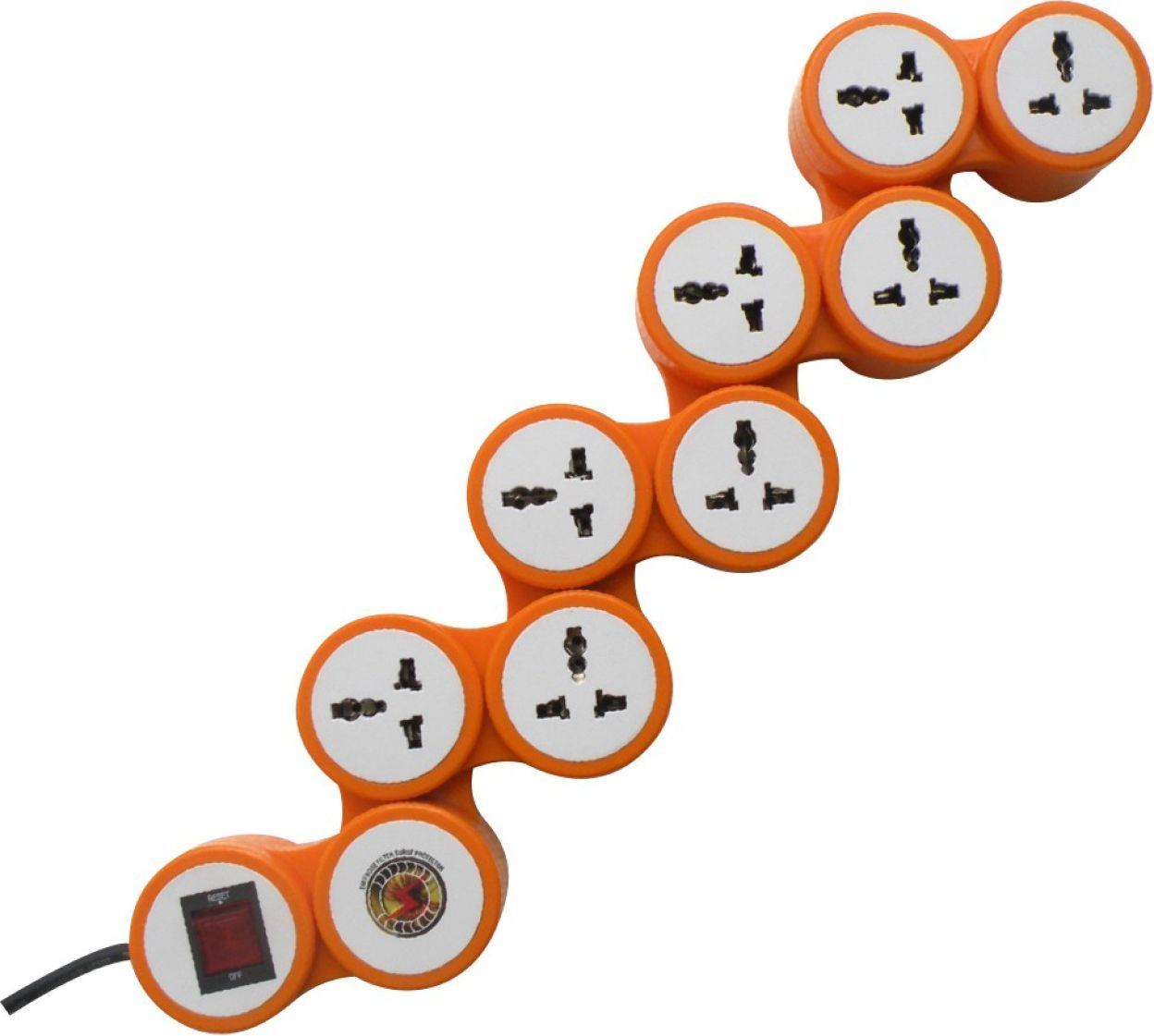 MX 3324 8 Outlet Snake Surge Protector