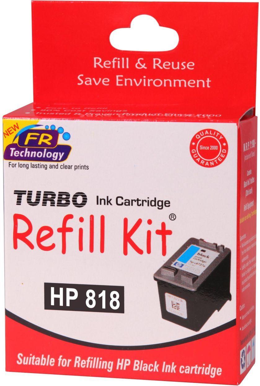 Turbo Black Ink Cartridge (for HP 818)