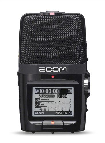Zoom H2n Handheld Audio Recorder
