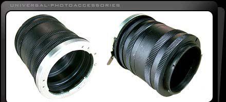 Universal Extension Tube Manual (For All Nikon ...