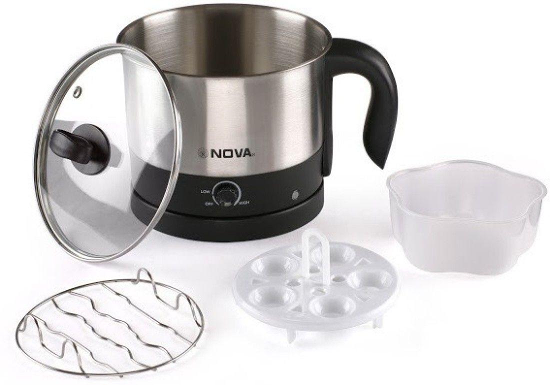 Nova NKT-2729 1.2 Litre Multifunction Electric Kettle