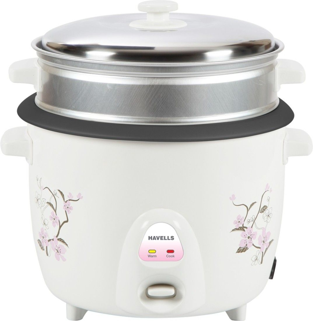 Havells Riso 1.8L 2 Bowl Electric Rice Cooker