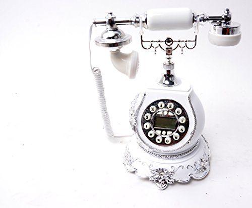 Scrafts Classic Antique Corded Landline phone