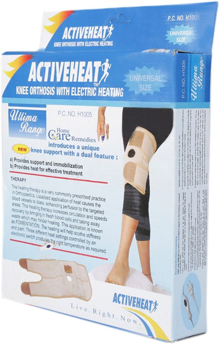 Activeheat  Knee Orthosis Universal Size H1005 Heating Pad