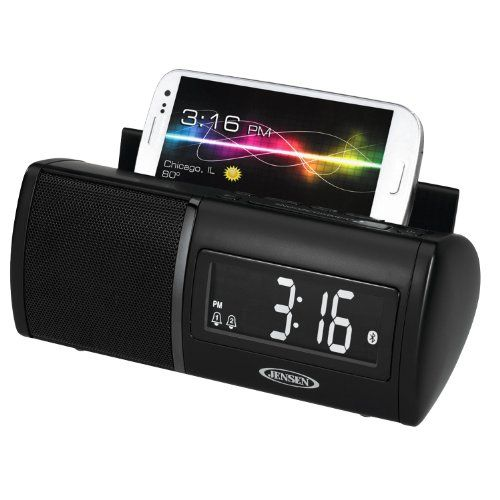 Jensen JBD-100 Bluetooth Clock Radio