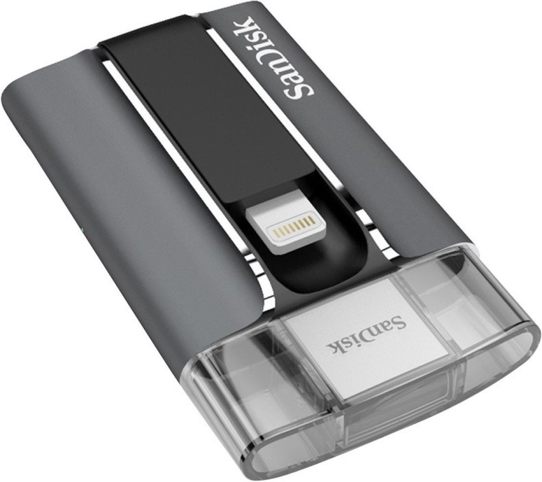 Sandisk iXpand 128GB Usb 2.0 Flash Drive For Iphone & Ipad