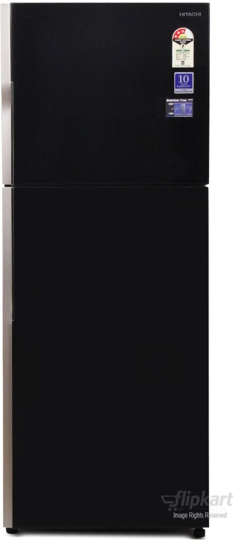Hitachi R-VG400PND3 382 L 2 Star Double Door Refrigerator