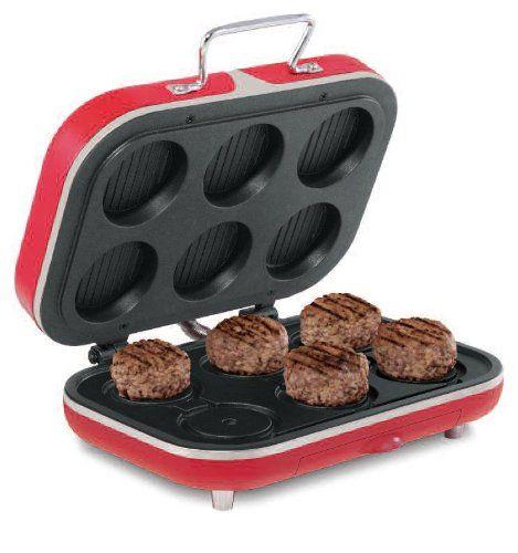 Sensio Bella Cucina 13433 BEC Grill Hamburger Maker