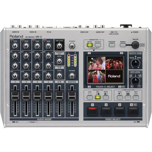 Roland VR-3 AV Mixer