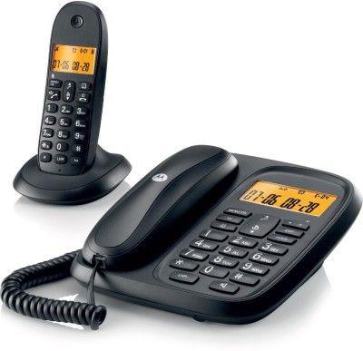 Motorola CL101 Corded & Cordless Landline Phone