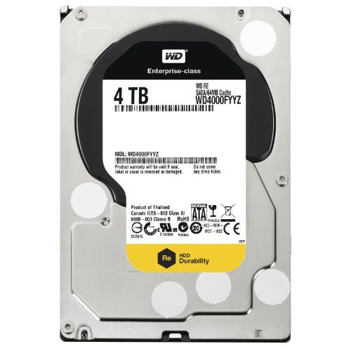 WD (WD4000FYYZ) 4TB Internal Hard Disk