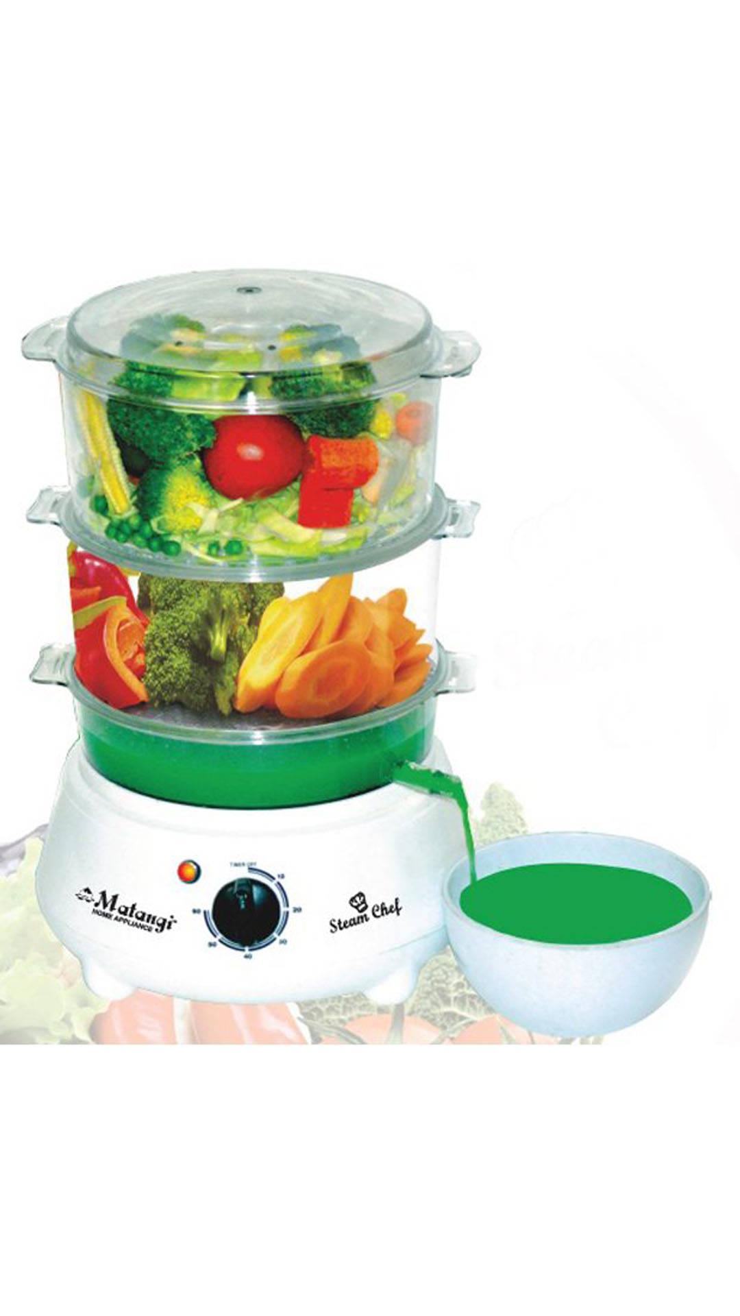 Matangi 2.4 Litre 600W Food Steamer