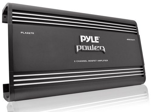Pyle PLA2678 2 Channel Bridgeable Mosfet Amplifier