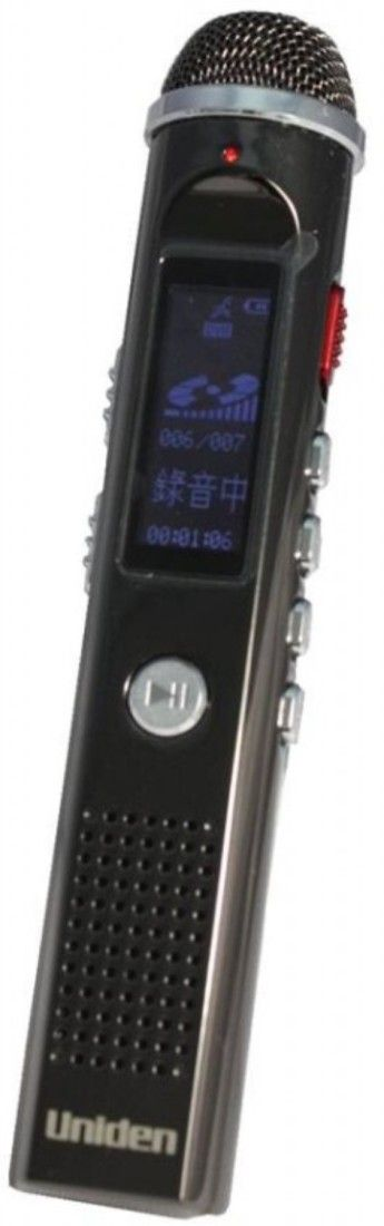 Uniden AA 1101VR 8GB Voice Recorder