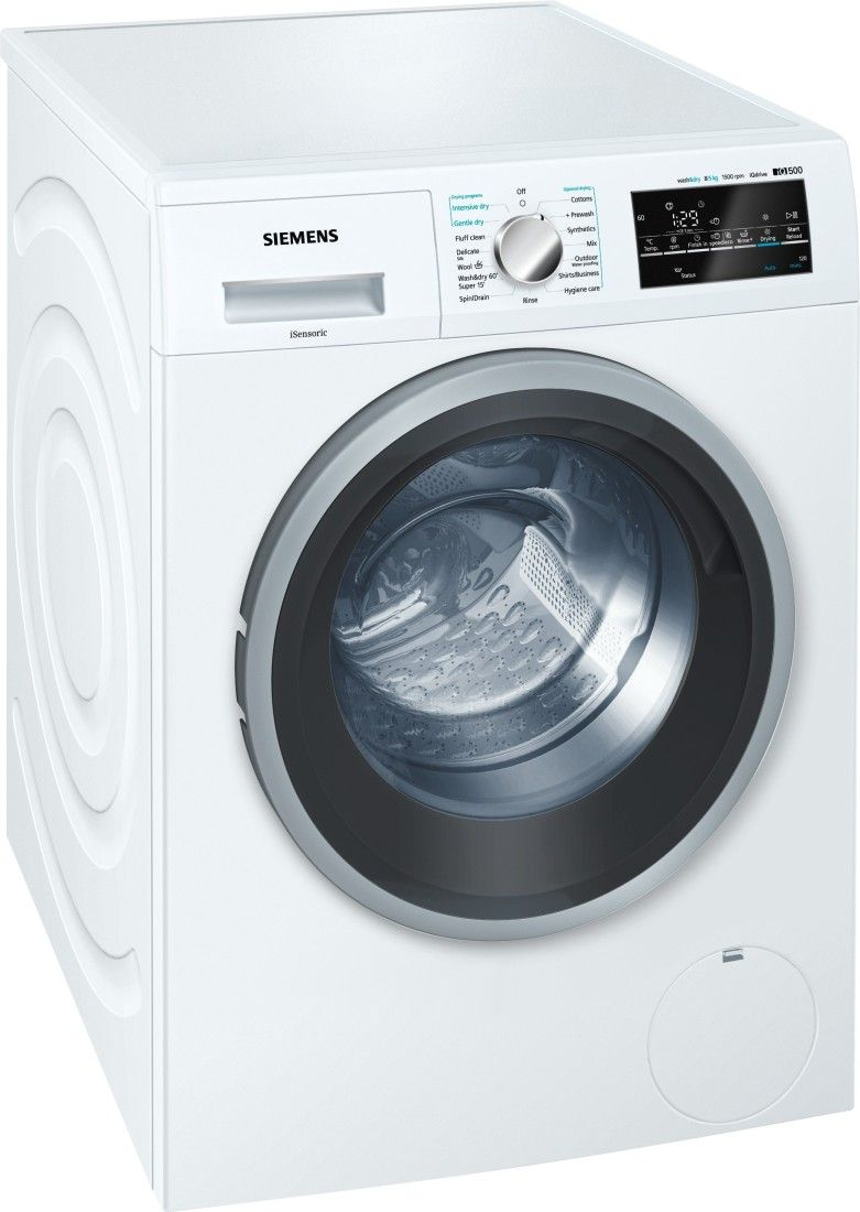 Siemens 8 Kg Fully Automatic Washer-Dryer (WD15G460IN)
