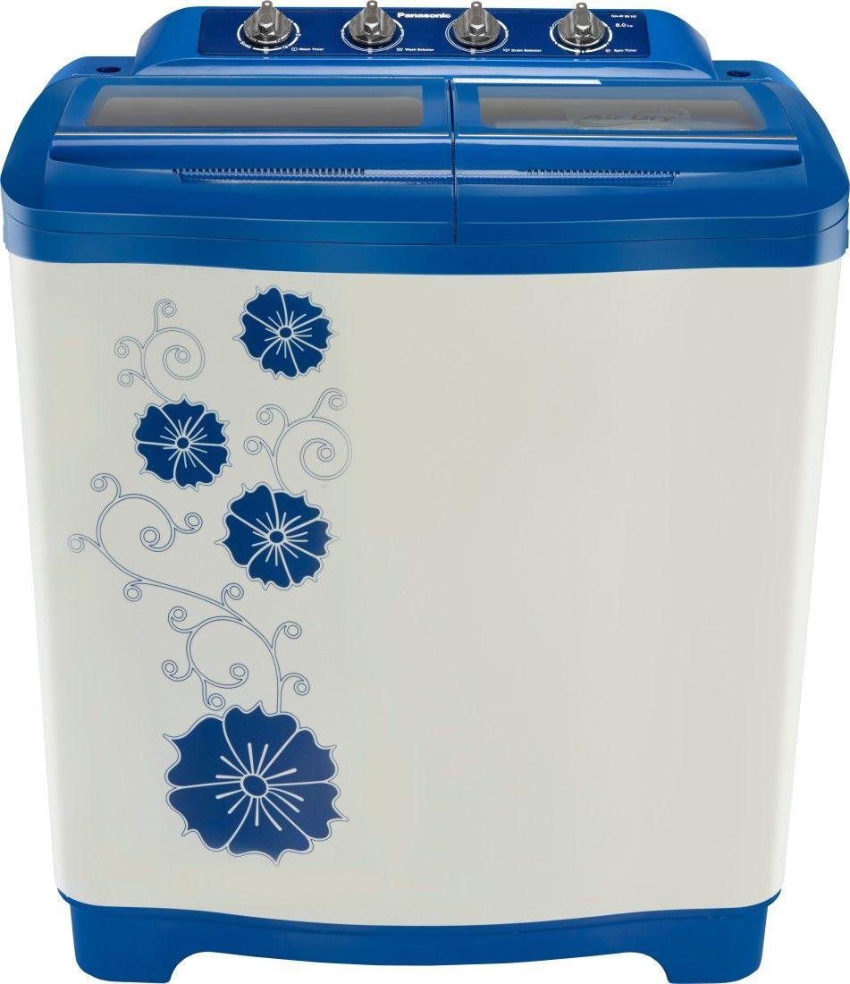 Panasonic 8 Kg Semi Automatic Washing Machine (NA-W80H2ARB)