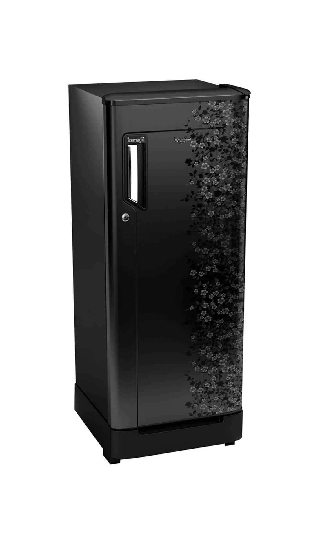 Whirlpool 205 IM Powercool PRM 5S 190 Litres Single Door Refrigerator (Midnight Bloom)