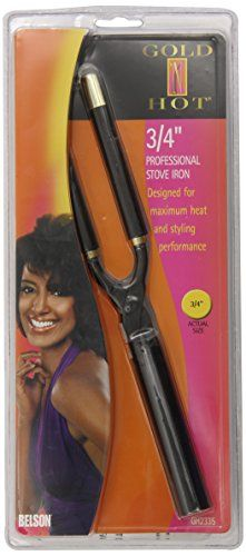 Gold N Hot GNH2335 Professional Stove Iron (3/4 Inch) Hair Curler
