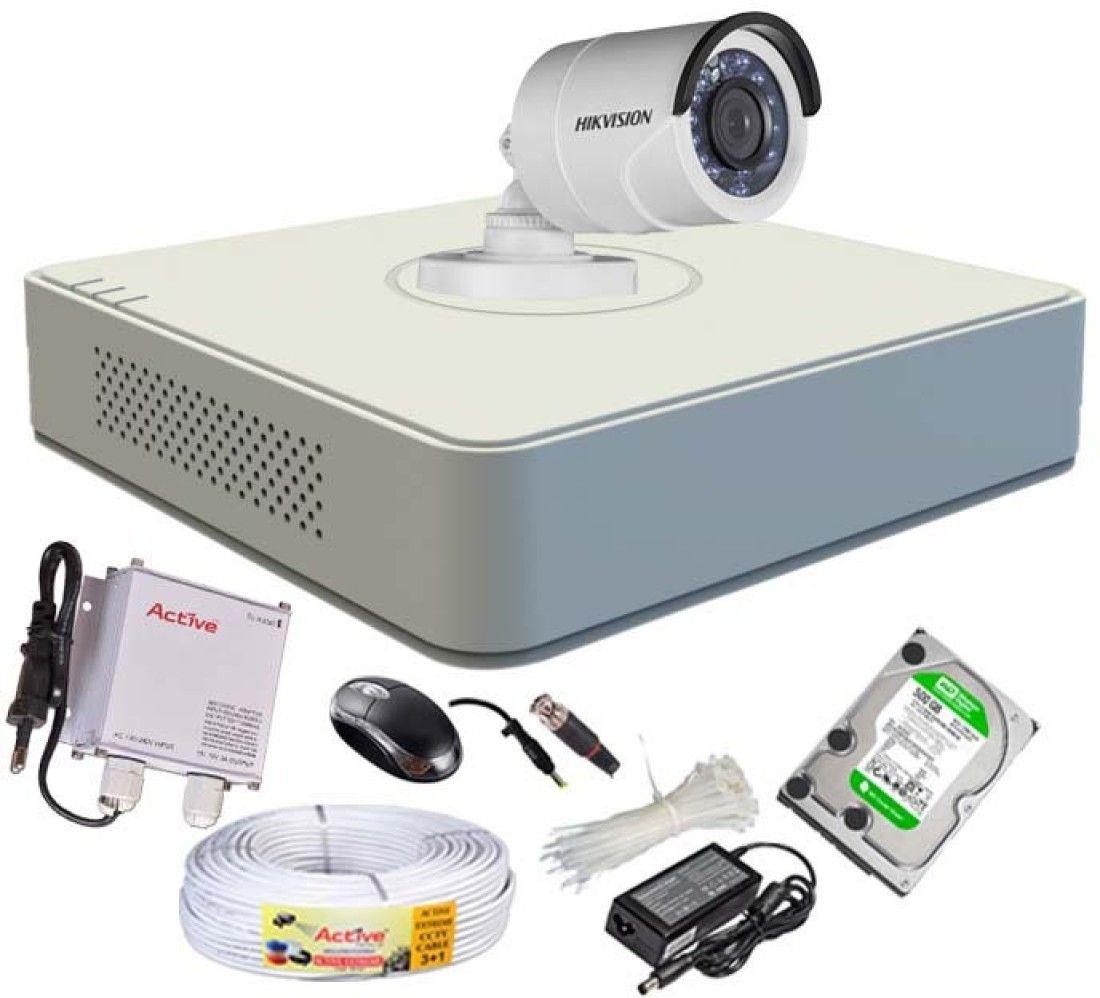 Hikvision DS-7104HGHI-F1 Mini 4CH Dvr, 1(DS-2CE...