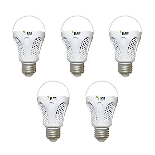 Imperial 9W-CW-E27-3546 Screw LED Bulb (White, Pack Of 5)
