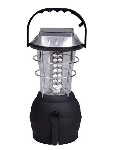Surya 36 LED Solar With Electric Charging Lantern Emergency Light