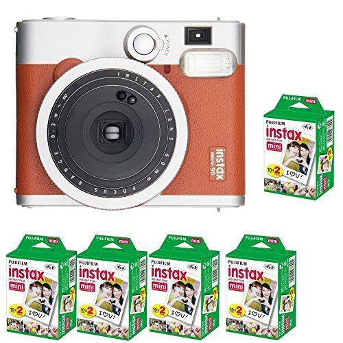 Fujifilm Instax Mini 90 Neo Classic Instant Camera (with 100 Shot Films)