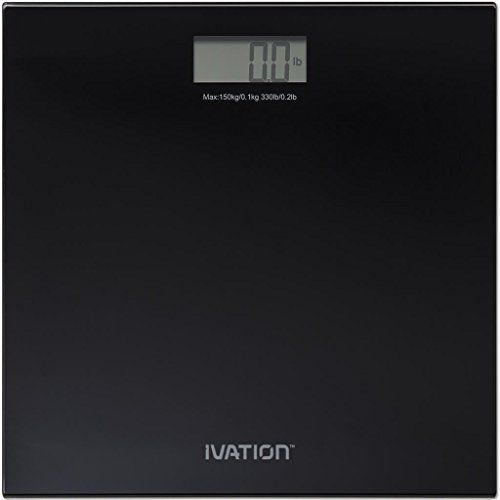 Ivation IVABG198 Ultra Thin Weighing Scale
