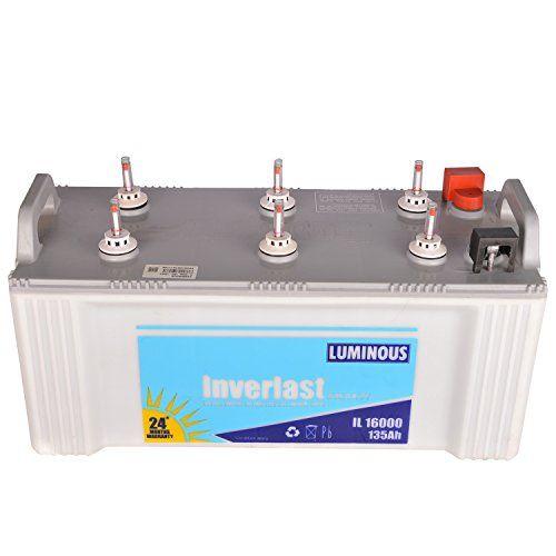 Luminous Inverlast Shakthi IL 16000 135 Ah Inverter Battery
