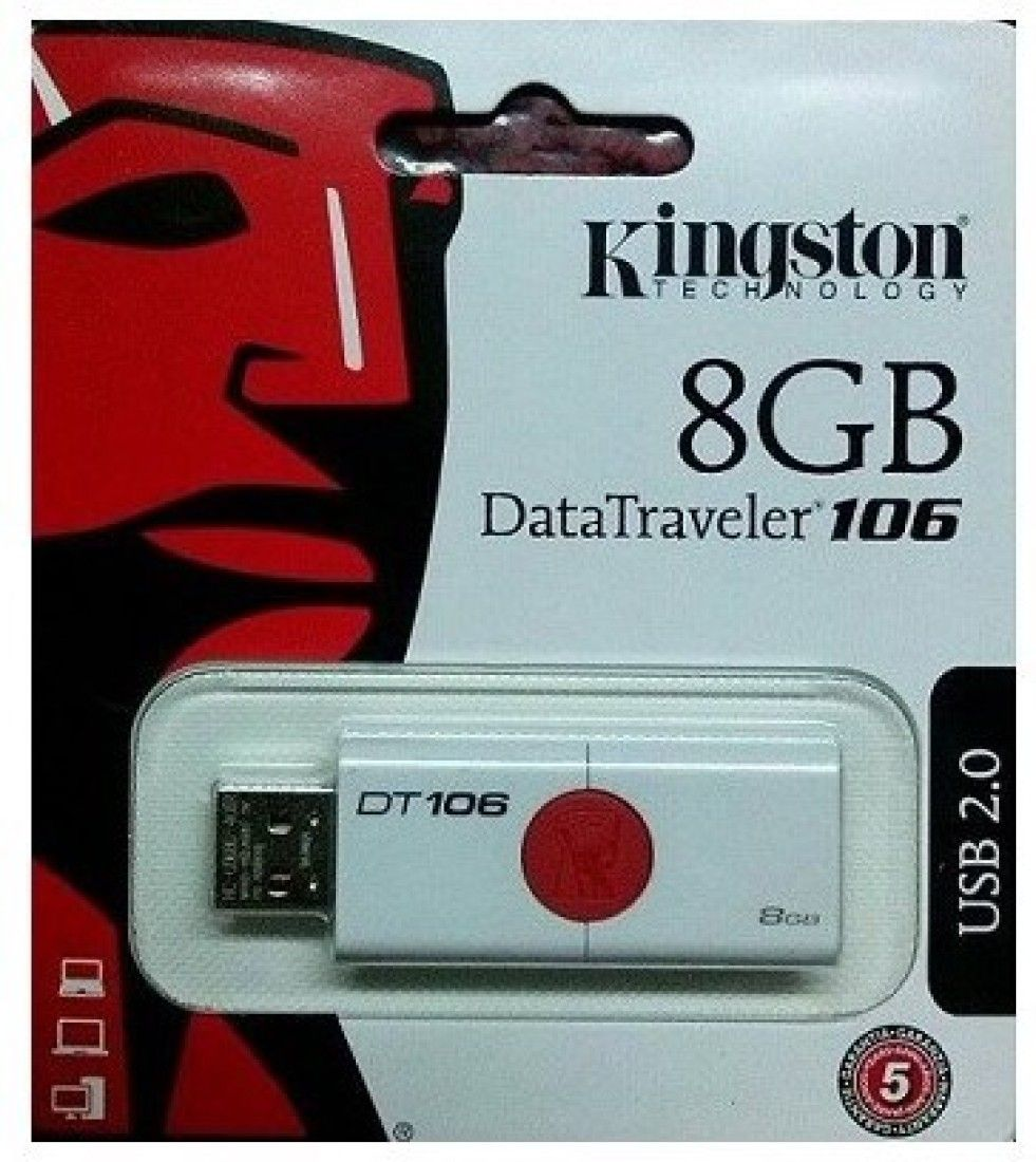 Kingston Data Traveler 106 8 GB  Pen Drive