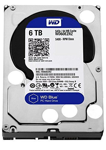 WD Blue WD60EZRZ 6TB Internal Hard Disk