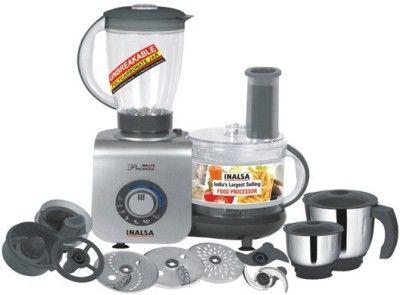 Inalsa Maxie Premia 800W Food Processor