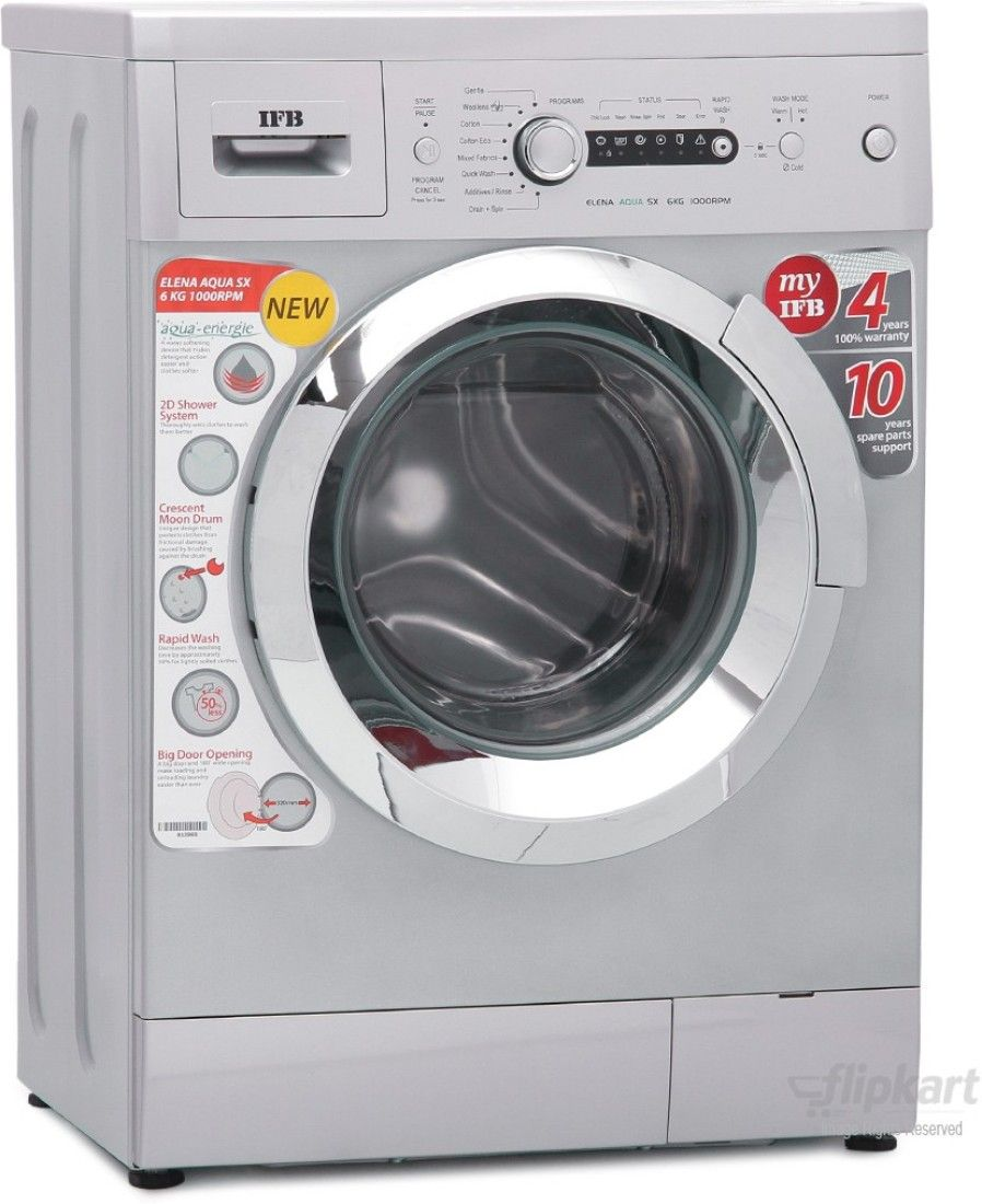 IFB 6Kg Fully Automatic Front Load Washing Machine (Elena Aqua SX)