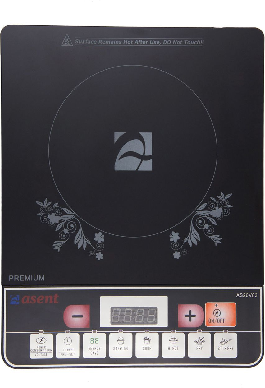 Asent AS20A83 2000W Induction Cooktop