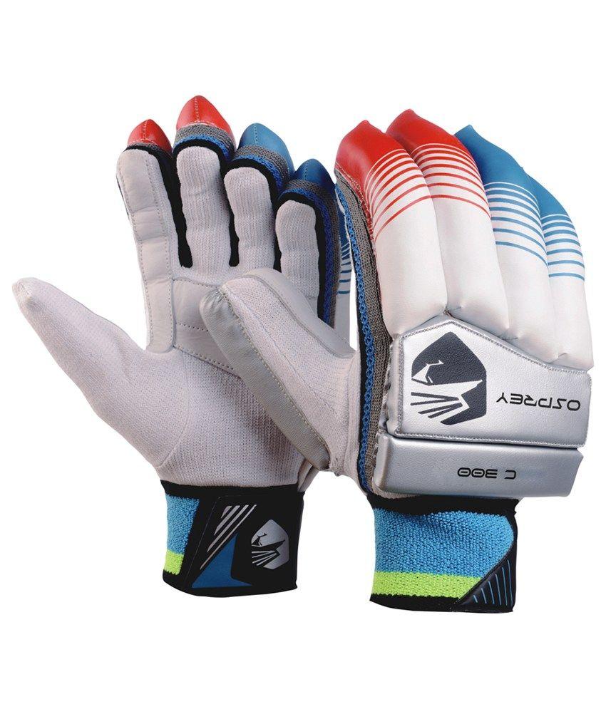 Osprey mens leather gloves - Osprey C300 Cricket Batting Gloves Mens