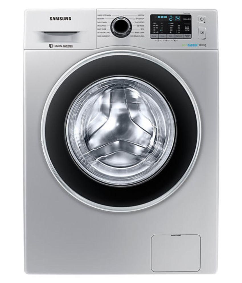 Samsung 8 Kg Fully Automatic Washing Machine (WW80J5410GS)