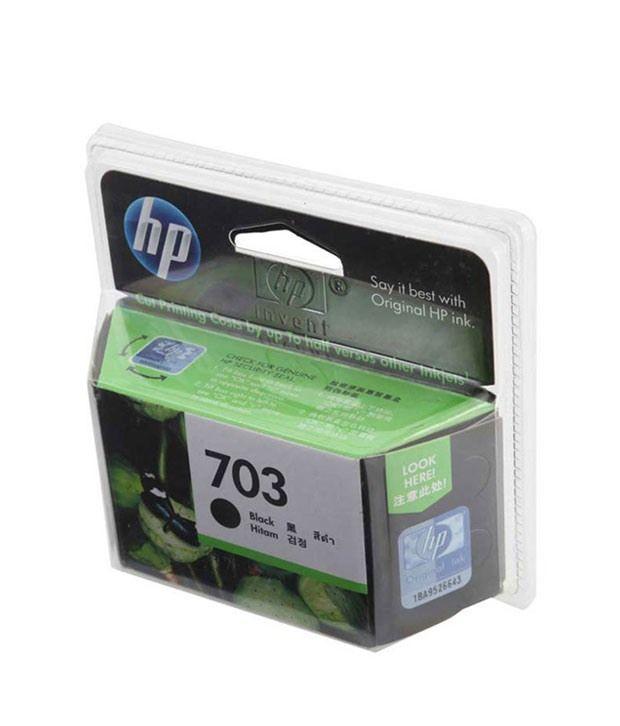HP 703 Black Ink Cartridge