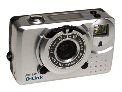 D-Link DSC-350 Dual Mode Digital  Camera