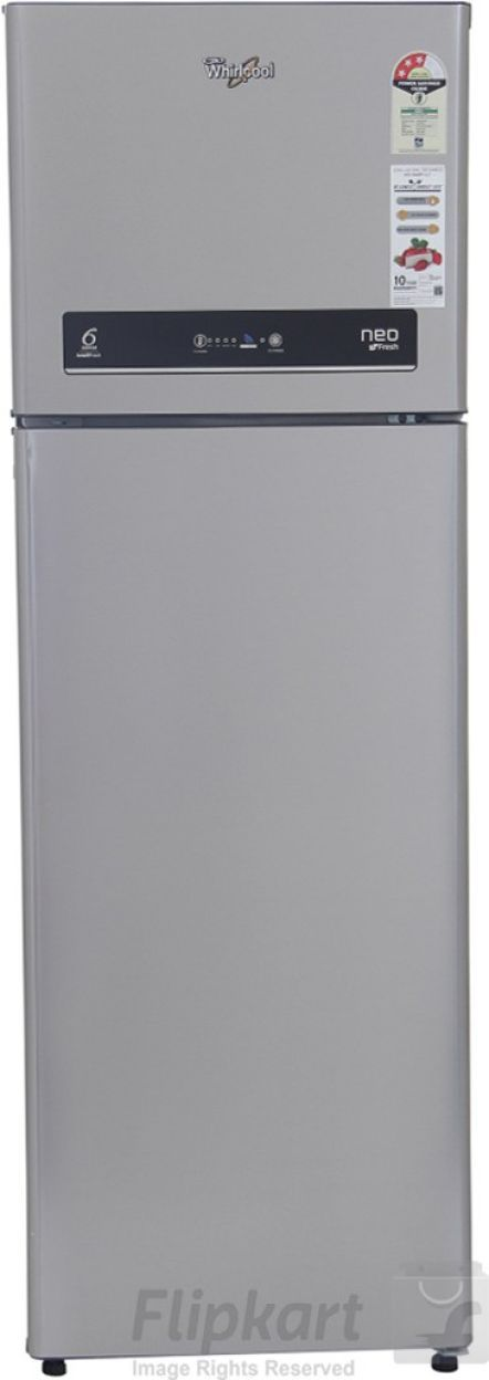 Whirlpool Neo IF305 ELT 292 L 3S (Alpha Steel) Double Door Refrigerator