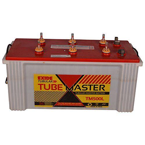 Exide Tube Master TM 500L Tubular Battery