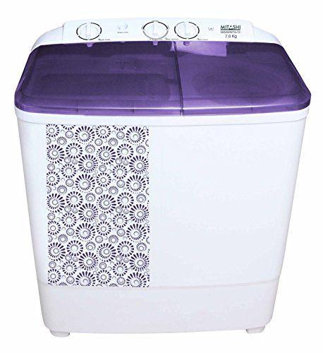 Mitashi 7 Kg Semi Automatic Washing Machine (MiSAWM70v10)