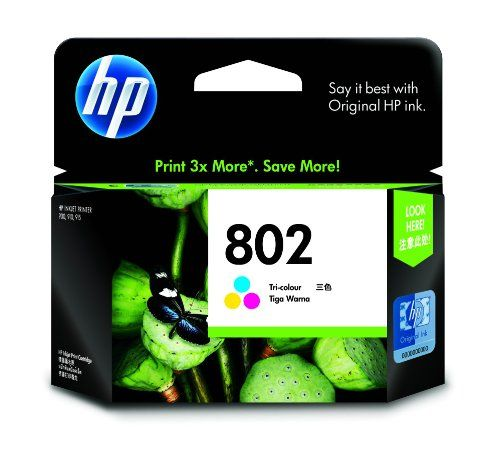 HP 802 Large Tricolor Ink Cartridge